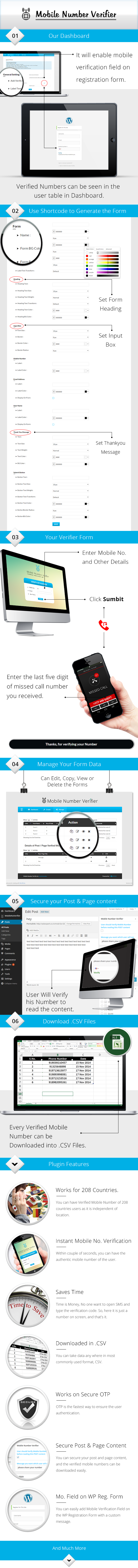 Mobile Number Verifier WordPress Plugin
