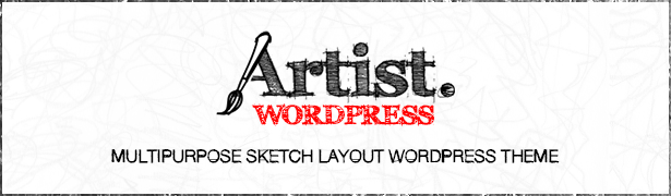 The ARTIST WordPress Theme