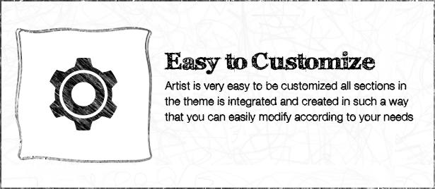 The ARTIST Wordpress Theme