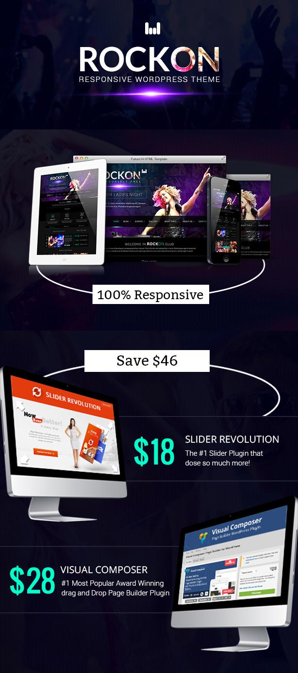 Rockon Responsive WordPress Theme